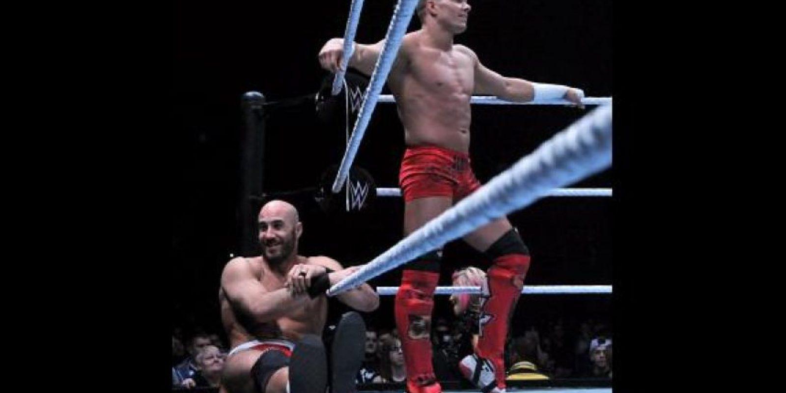 Se enfrentaban a Cesaro y Tyson Kid Foto:WWE