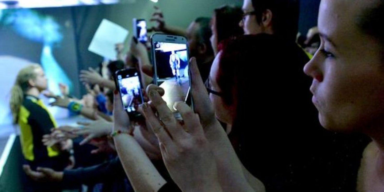 Durante una función de Smackdown Foto:WWE