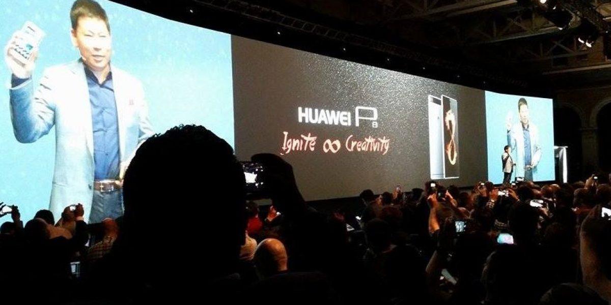 FOTOS. Huawei presenta en Londres el nuevo P8 Ascend