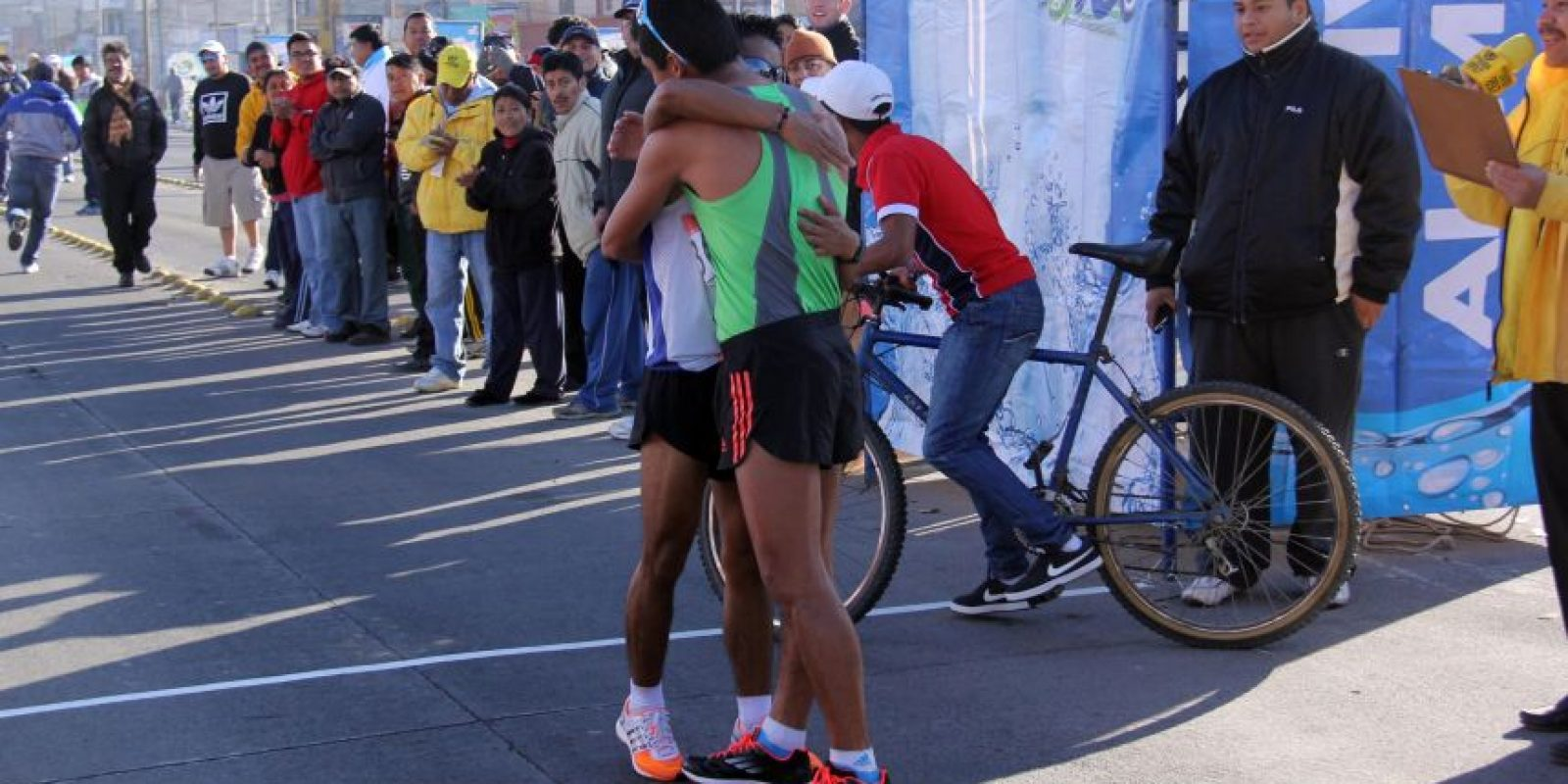 Erick Barrondo y José Raymundo consiguieron en República Checa su acceso a la cita olímpica del próximo año. Foto:CDAG