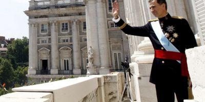 2. El peculiar obsequio se le dio al rey en Bruselas. Foto:Getty Images