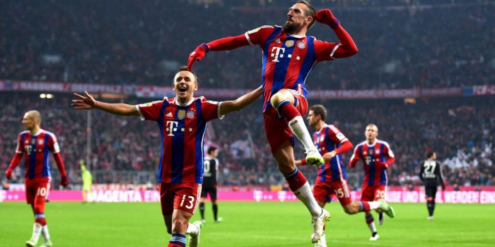 Son líderes de la Bundesliga Foto:Getty Images