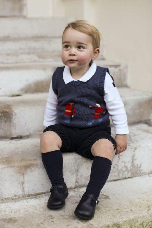 4. El 22 de julio de 2013 nació el príncipe George. Foto:Getty Images