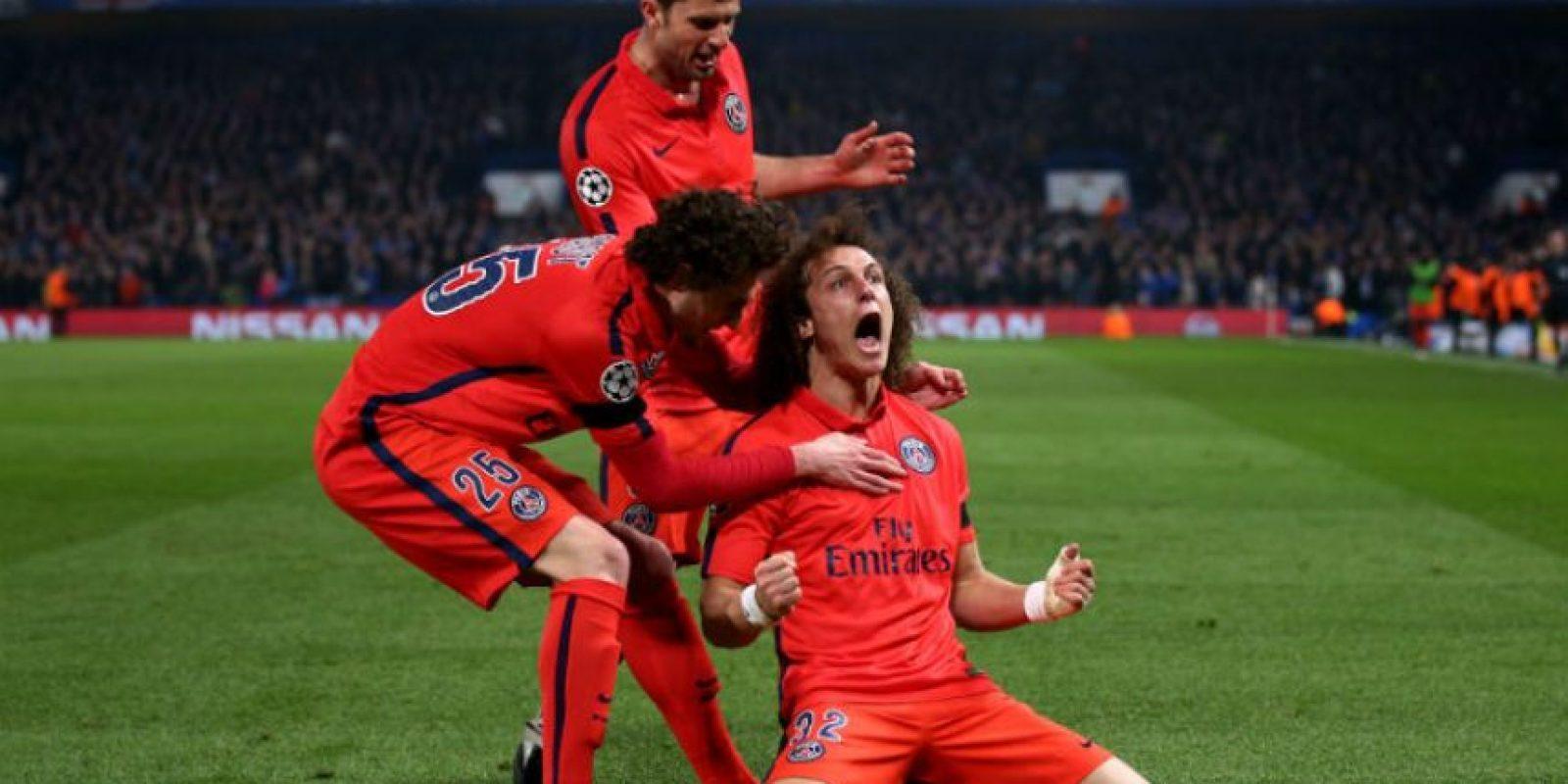 PSG eliminó en octavos a Chelsea Foto:Getty Images