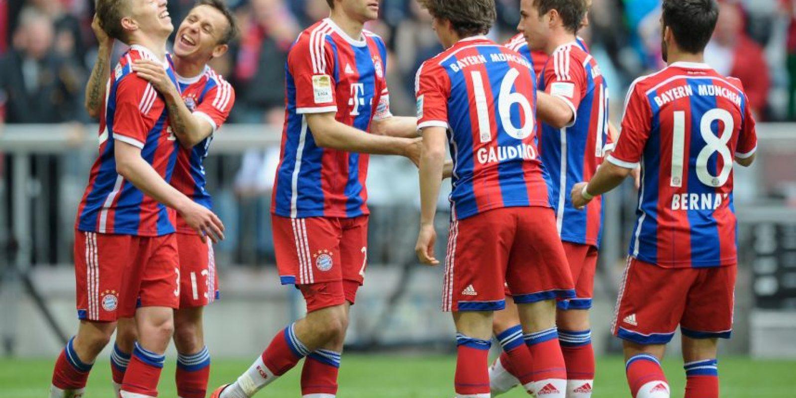 Bayern parte como favorito en la serie Foto:Getty Images