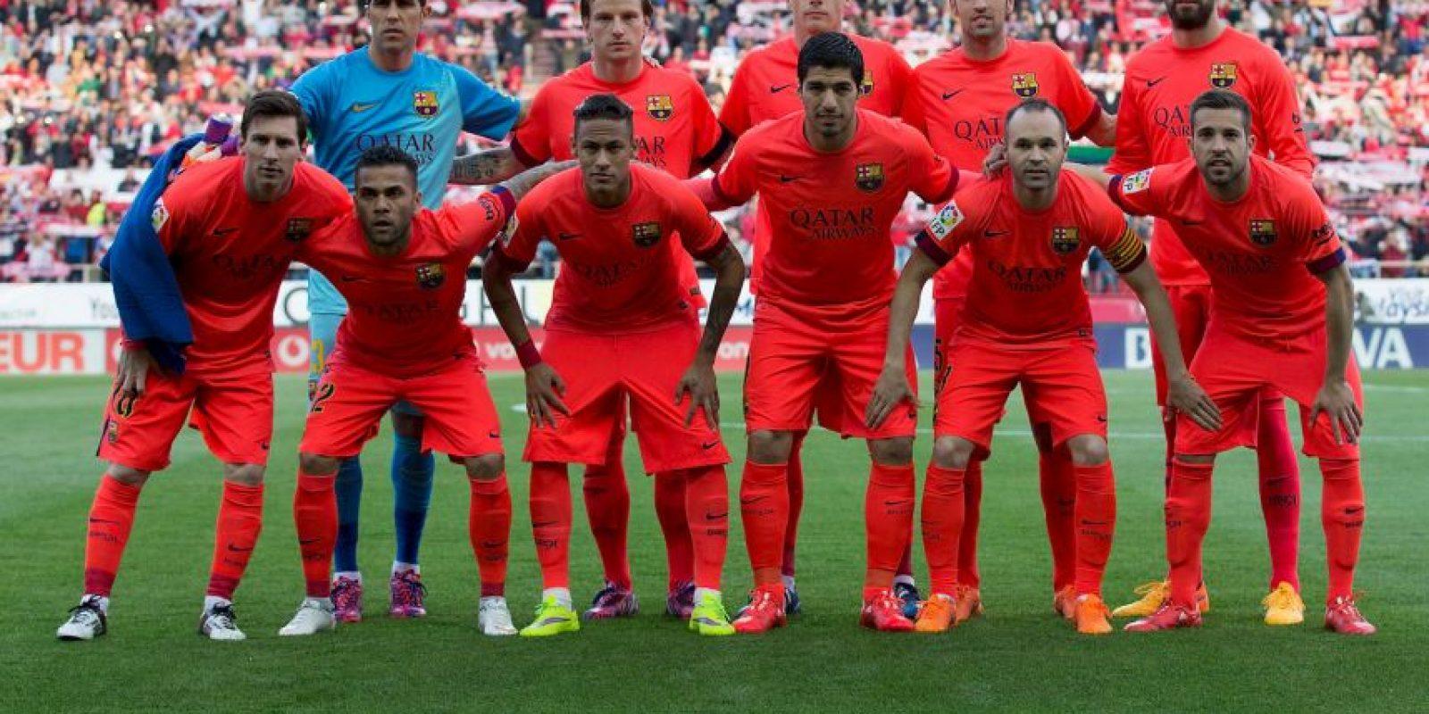 Barcelona llega a cuartos de final por octava ocasión consecutiva Foto:Getty Images