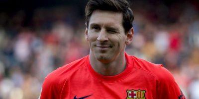 Messi, el líder blaugrana Foto:Getty Images