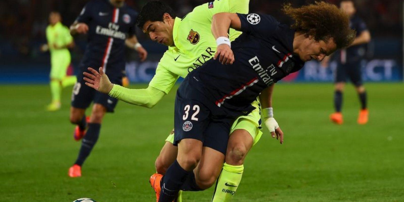 Luis Suárez, en cambio, llegó en buena forma y esta noche salió inspirado. Foto:Getty Images