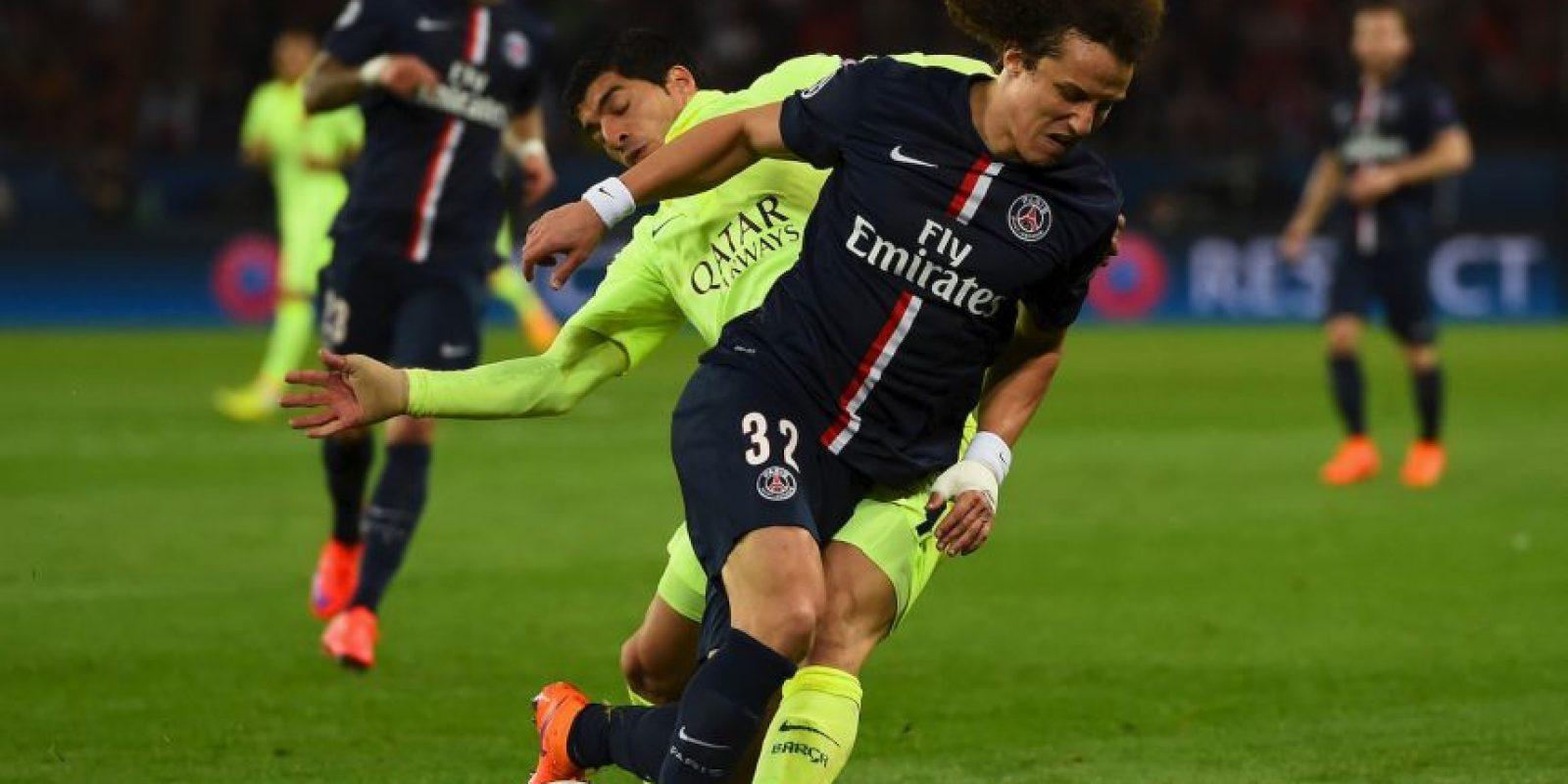 Luiz llegó a este partido apenas recuperado de una lesión que superó en 10 días… cuando el tiempo de recuperación estimado era de un mes. Foto:Getty Images