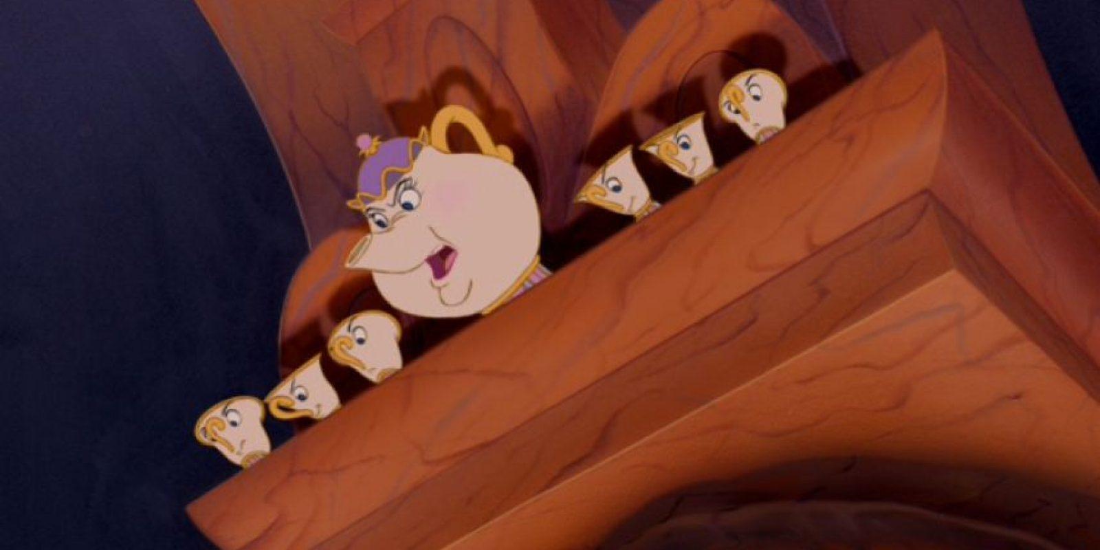 """Mrs Potts"" Foto:Vía Facebook.com/DisneyBeautyAndTheBeast"
