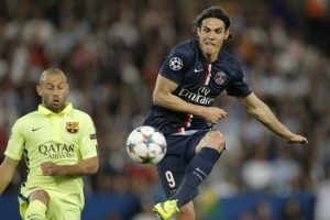 Una noche inspirada de Luis Suárez le facilitó al Barcelona una gran victoria en París. Foto:AP