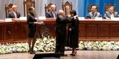 Gloria Porras asume la presidencia de la Corte de Constitucionalidad en año electoral