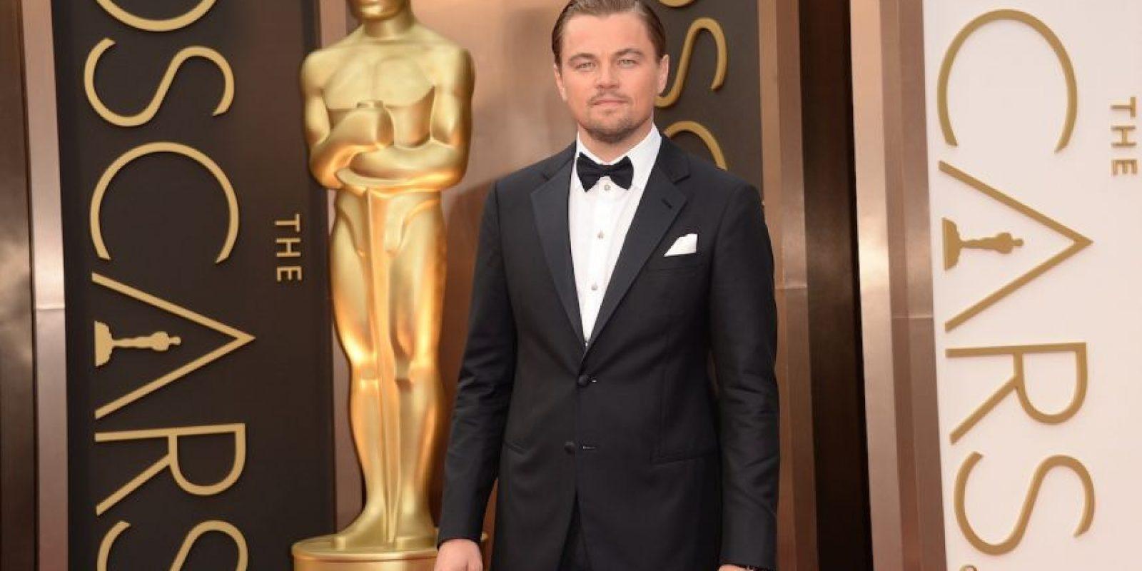 """Es dueño de un Globo de Oro y también es reconocido por ser """"el eterno nominado de los premios Oscar"""". Foto:Getty Images"""