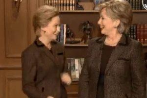 Imagen del video que compartió la humorista Amy Poehler en Twitter. Foto:AP