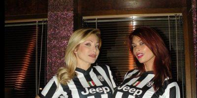 2 actrices de cine para adultos prometen striptease a futbolistas de Juventus