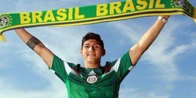 El futbolista azteca fue parte de la Selección mexicana en el Mundial de Brasil 2014 Foto:Vía twitter/PulidoTeam_DF