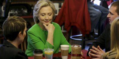 Su estrategia es hablar personalmente con los votantes. Foto:AP
