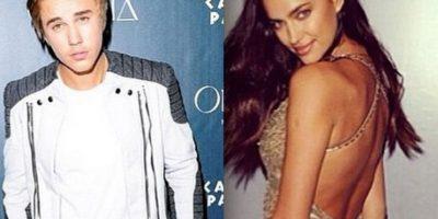 Justin Bieber coquetea con Irina Shayk, expareja de Cristiano Ronaldo