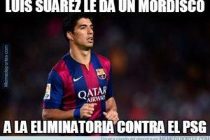 Y Luis Suárez salió inspirado para marcador dos goles. Foto:Vía memedeportes.com