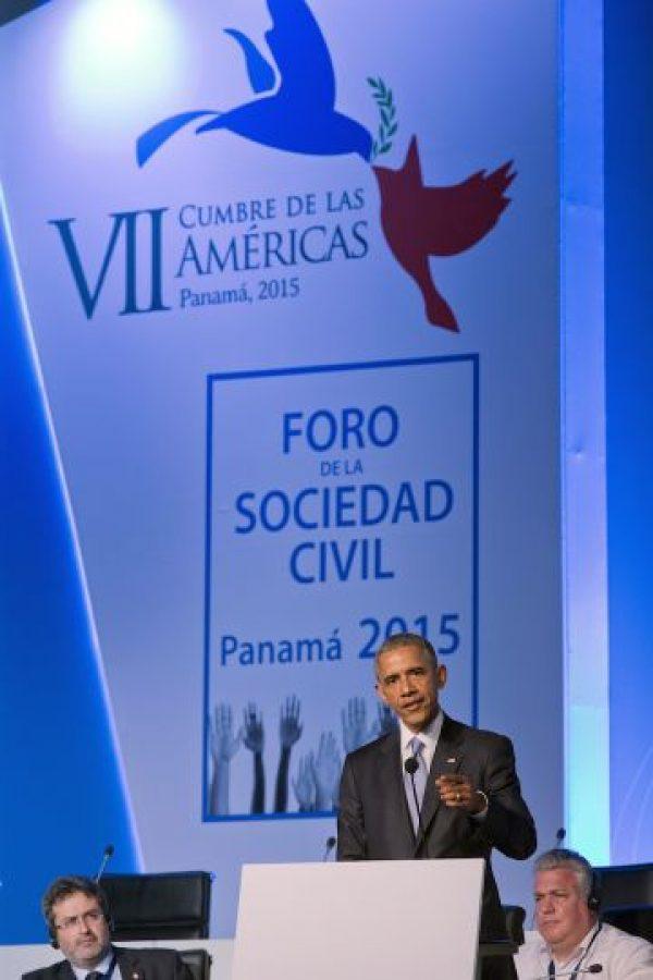 5. El pasado 17 de diciembre el presidente de Cuba, Raúl Castro y el presidente de Estados Unidos, Barack Obama anunciaron el restablecimiento de las relaciones diplomáticas de ambos países. Foto:AP