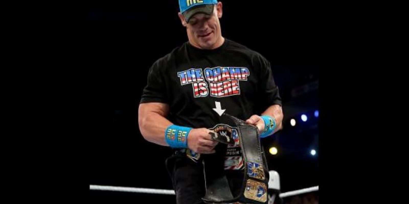 Bryan hacía pareja con John Cena Foto:WWE