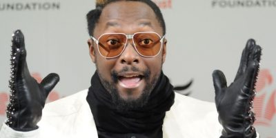"Will I Am de ""Black Eyed Peas"" compró una gran caja de condones en su tour. Foto: vía Getty Images"