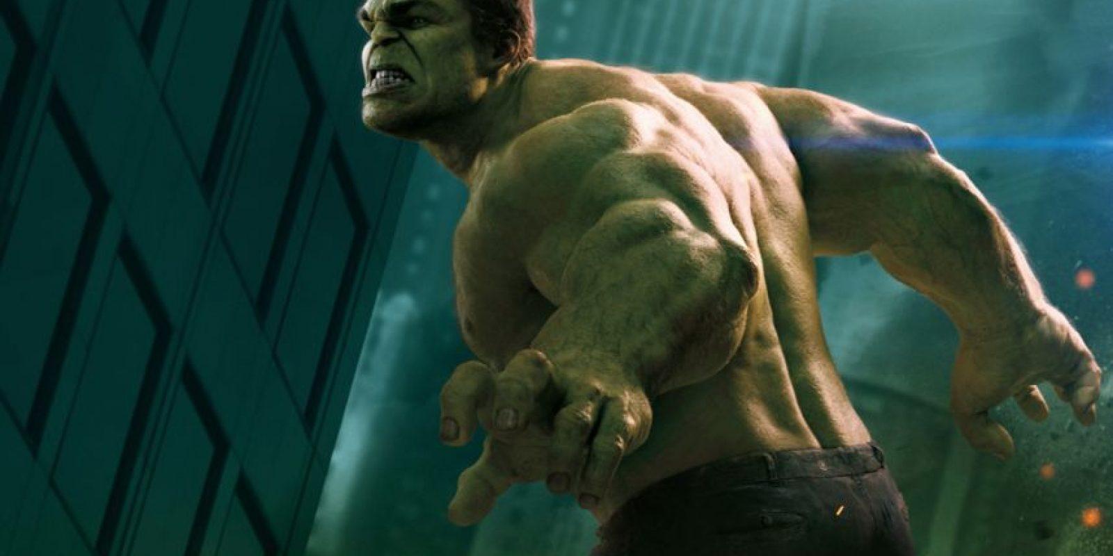 No se ha hecho una película de Hulk con Mark Ruffalo porque Marvel no tiene los derechos. Foto:vía Marvel
