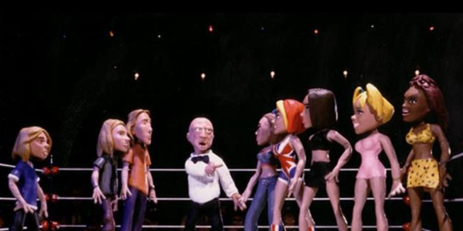 ¿Cómo olvidar lo que les pasó a las Spice Girls y los Hanson por culpa de Marilyn Manson? Foto:MTV