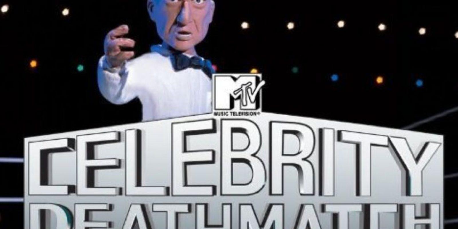 Muchos disfrutaron a finales de los años 90 con las peleas entre las celebridades que terminaban en sangrientos desenlaces. Foto:MTV