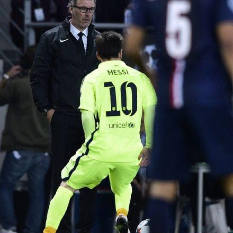Barcelona venció 3-1 al combinado galo en los cuartos de final de la Champions Foto:Getty Images