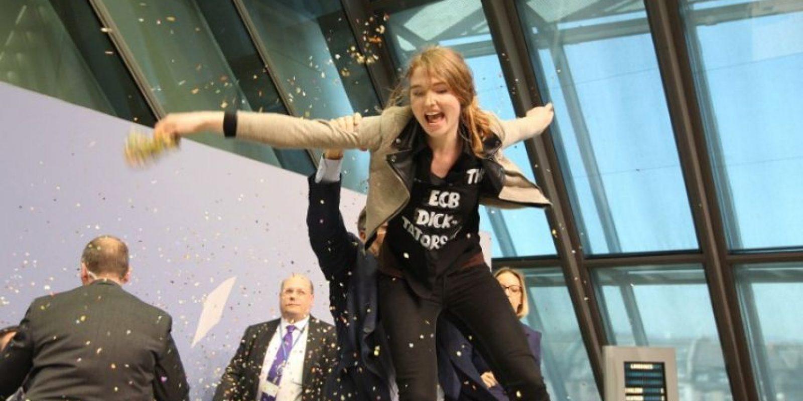 Y es activista del grupo FEMEN Foto:AFP