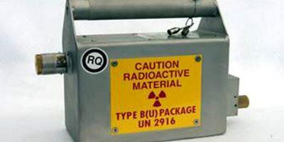 Así luce la fuente de radioactividad Iridio 192 Foto:AFP