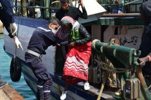 """""""Debemos proteger el derecho de los migrantes, apoyarlos, proteger a las mujeres y especialmente a los niños, incluidos los que viajan solos"""", concluyó Foto:AFP. Información: Misssingmigrants.iom.int"""