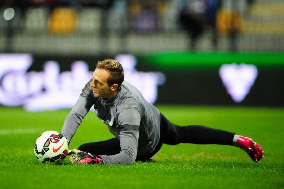 Cech le respondió a quien lo consideró inferior que Oblak. Foto:AFP