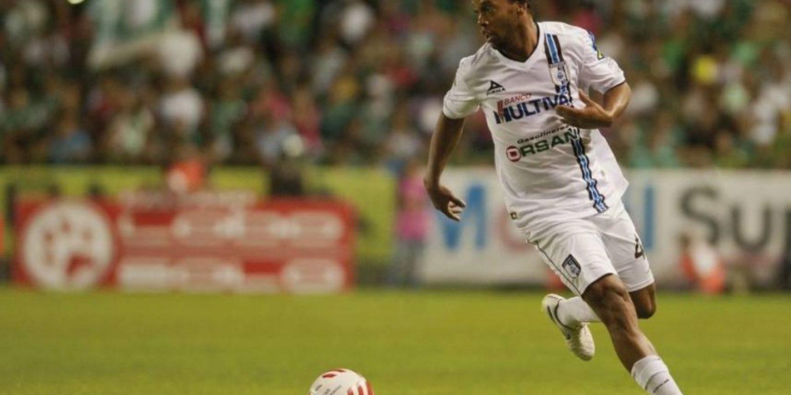 El brasileño sólo ha marcado 3 goles en 21 partidos con el equipo mexicano. Foto:Vía facebook.com/clubqueretaro