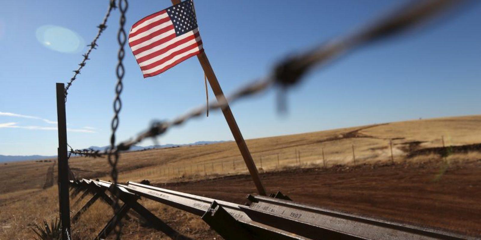 3. Frontera México – Estados Unidos Foto:Getty Images