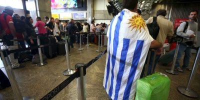 Lo mismo pasa con Uruguay, se que encuentra en la misma posición por el número de países Foto:Getty Images