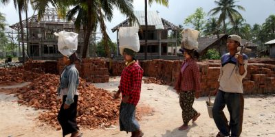 205 muertes se registraron entre la India, Birmania y Bangladesh Foto:Getty Images