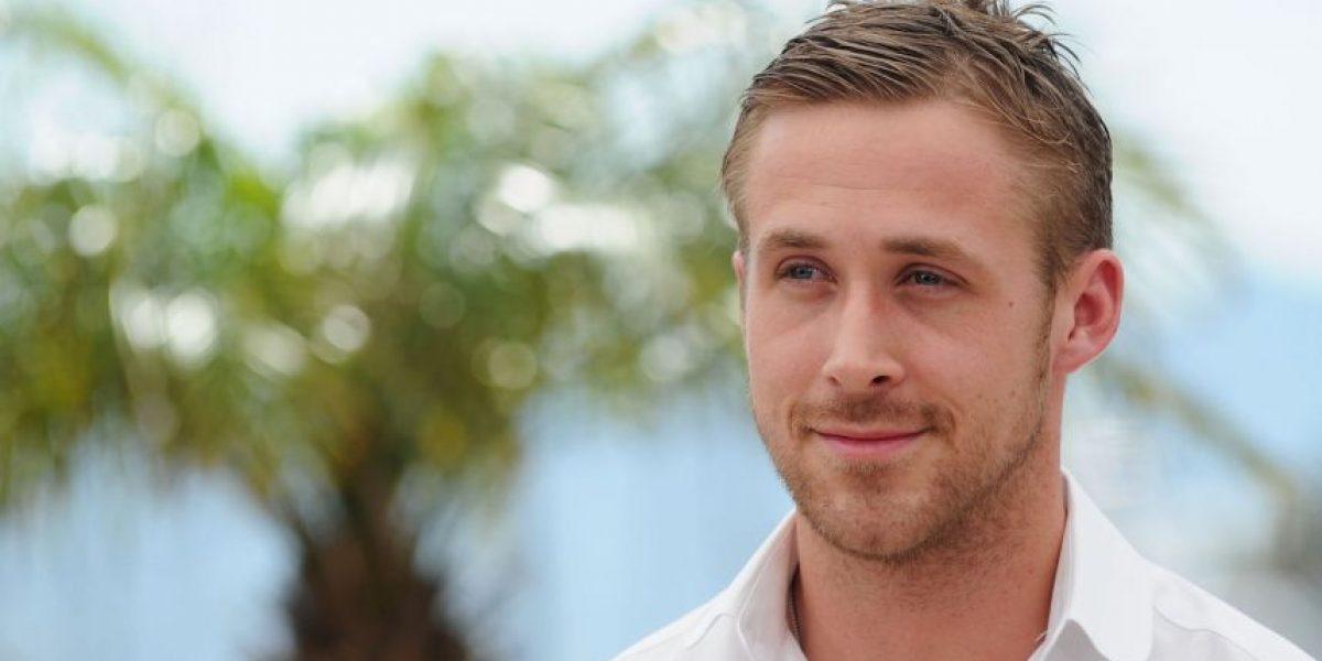Ryan Gosling dejó de ser rubio: Ahora es un guapo castaño