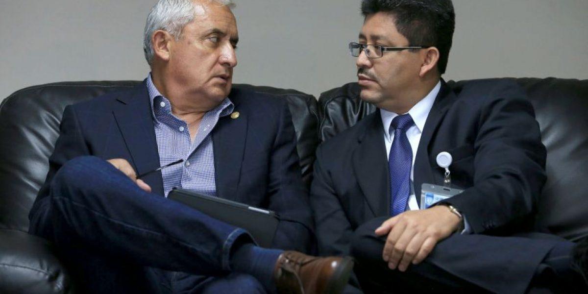 Según Pérez, la brecha fiscal a la fecha es de Q117 millones