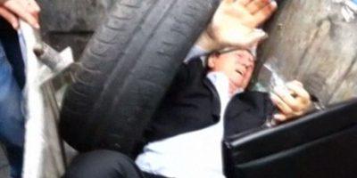 En septiembre de 2014 fue arrojado a un bote de basura Foto:Captura de YouTube