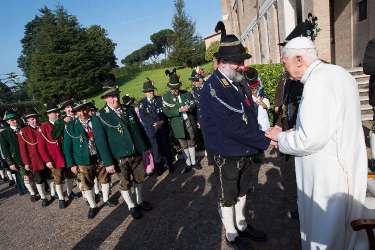 El papa Francisco también recordó esta fecha durante una misa. Foto:AFP