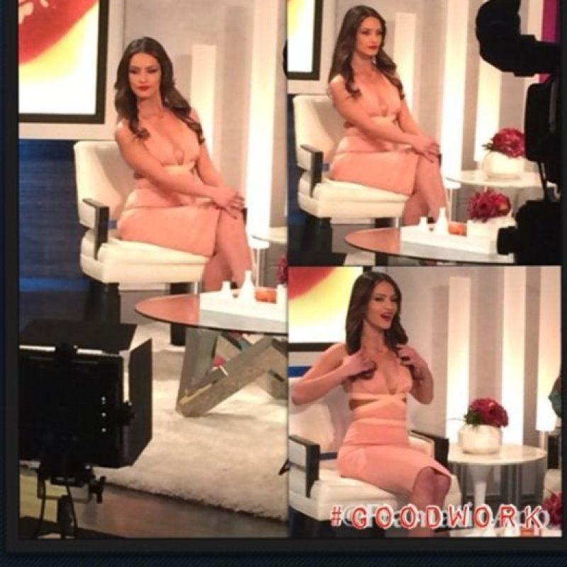 Sandra asegura que el éxito de su carrera es el fruto de su esfuerzo. Foto:Vía Instagram.com/sandravergara21