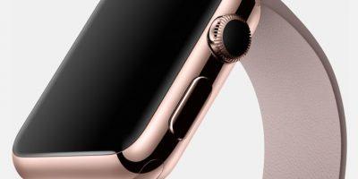 Los compradores empezarán a recibir el Apple Watch Edition el 24 de abril. Foto:Apple