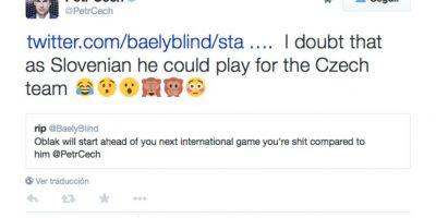 Cech le respondió a quien lo consideró inferior que Oblak. Foto:Publinews