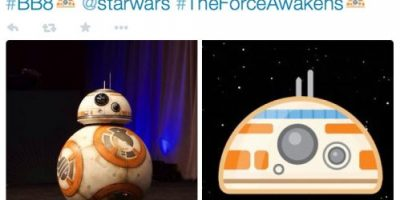 """Fans de """"Star Wars"""" muestran su amor por """"BB8"""", el nuevo amigo de """"R2D2"""""""
