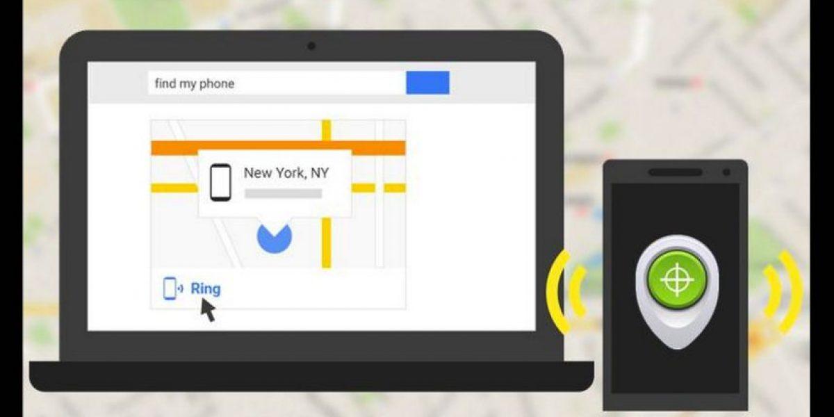 Ahora podrán buscar su smartphone perdido en Google