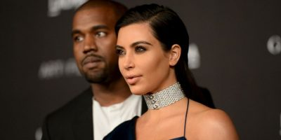 """Kim y Kanye aparecen en la categoría """"Titanes"""". Foto:Getty Images"""