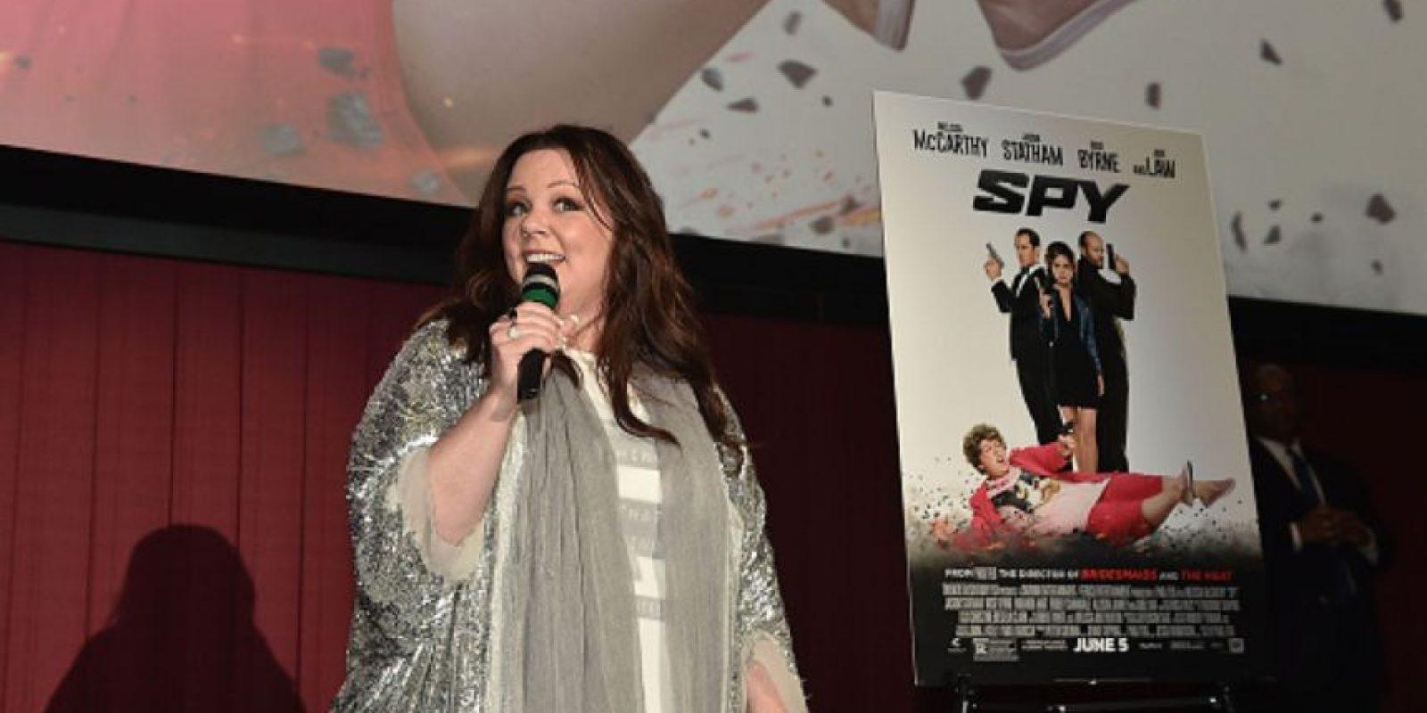 Nunca le ha puesto atención a las críticas sobre su peso y ha sido reconocida por su actuación. Foto:vía Getty Images