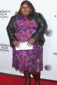 """Gabourey Sidibe se hizo famosa por la película """"Precious"""". Foto:vía Getty Images"""